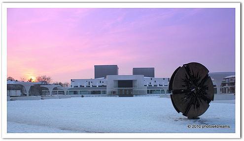 staatstheater winter - foto: susannah v. vergau