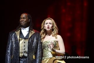 DMC & elisabeth hübert / best of musical gala ffm 3-2012 - foto: susannah v. vergau