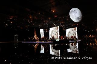 Der Neuseeland-Pavillion der Buchmesse Frankfurt 2012. Foto: Susannah V. Vergau