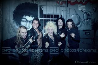 kissin' dynamite 05.11.2012 ffm - foto: susannah v. vergau