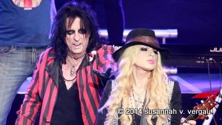 rock meets classic 11.03.2014 ffm, alice cooper / orianthi - foto: susannah v. vergau