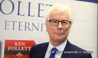 ken follett buchmesse frankfurt 08.10.2014 - foto: susannah v. vergau