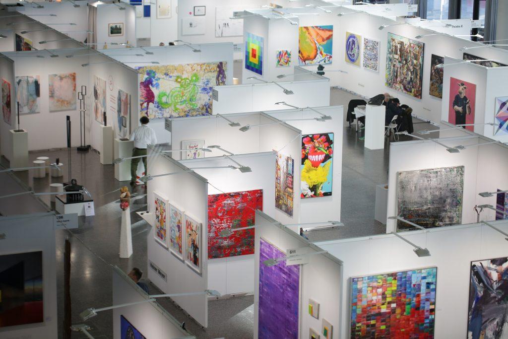 DISCOVERY ART FAIR 2019 in Frankfurt eröffnet – die Bilder